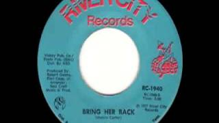 Bring Her Back - James Carr (River City-1940)