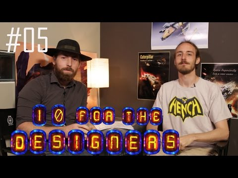 10 for the Designers: Episode 05 (2015.06.29)
