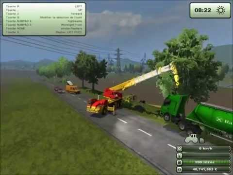 farming simulator 2013 d pannage semi remorque youtube. Black Bedroom Furniture Sets. Home Design Ideas
