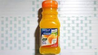 السعرات الحرارية في المراعي عصير برتقال طبيعي عبوة 200 مل Youtube