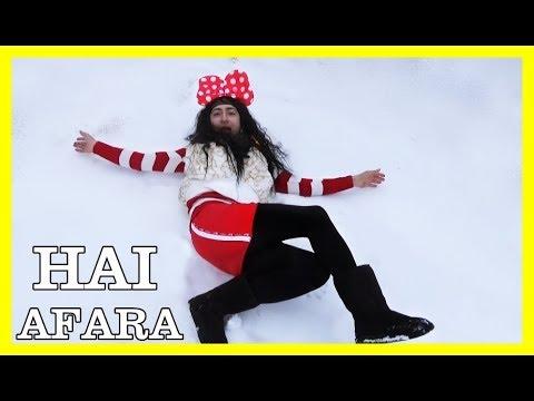 HAI AFARA LA ZAPADA ( PARODIE ) ELSA DOMNISOARA DE LA SAT - CRINGE ALERT - :))))