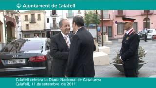 Calafell celebra la Diada Nacional de Catalunya 2011