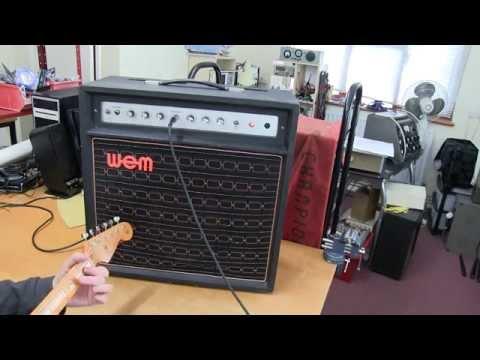 WEM Dominator Mk3 (1977) Service and Circuit description. Sound test.