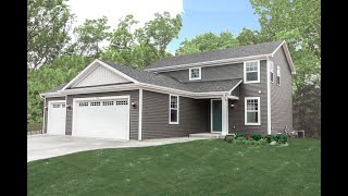 New Two-Story Home Plan Available at Ellis Farms in Delavan Wisconsin by US Shelter Homes