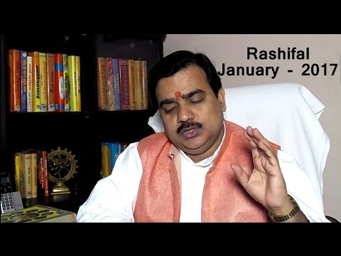 January Rashifal -2017 :Rashifal January-2017 in Hindi by Pt Deepak Dubey