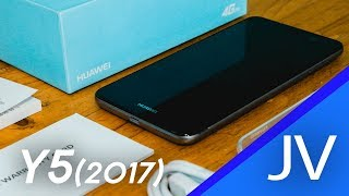 Huawei Y5 2017 | Unboxing and Quick Hands-on!