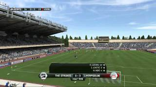 Soccer-Fifa-Ultimate Team-Spiders On The Field-Message To Donovan-Fifa 14 Gameplay PS4 FUT