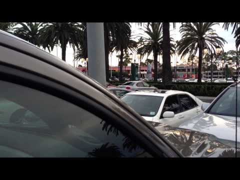 Shooting at Fashion Island in Newport Beach, CA