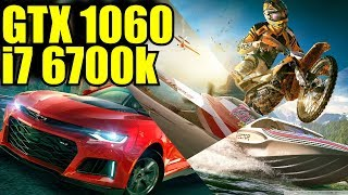 The Crew 2 BETA GTX 1060 6GB & i7 6700k | 1080p  | FRAME-RATE TEST