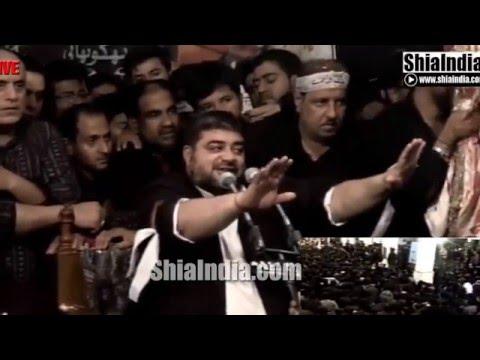 19th Safar Abbas Ka Chehlum Majlis at Ibadath Khana-e-Hussaini 1437-2015-16