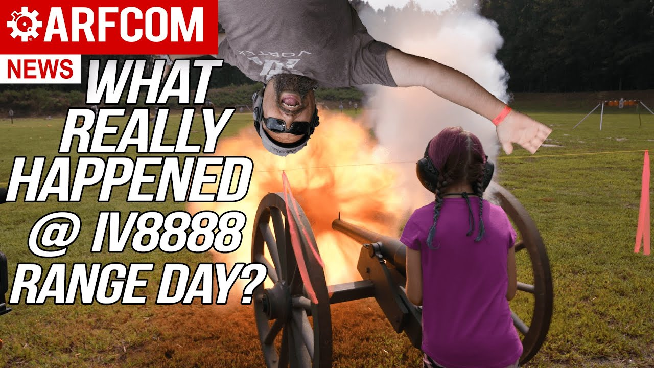 IV8888 Oct 2021 Range Day News Special! What REALLY happened at IV8888 Range Day?