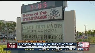 Several boys have sex with girl, 15, in Ft. Myers high school bathroom