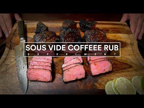 Sous Vide COFFEE RUB Steak Experiment!