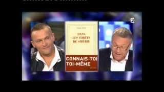 Sylvain Tesson - On n'est pas couché 8 octobre 2011 #ONPC