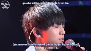[TTK][Vietsub-Kara] Chỉ yêu mình em/情有独钟 - Sáng tác dành tặng Vương Tuấn Khải