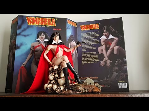 1/6 SCALE VAMPIRELLA FIGURE UNBOXING. TBLeague / Phicen
