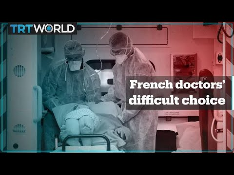 French doctors face tough call on whom to save