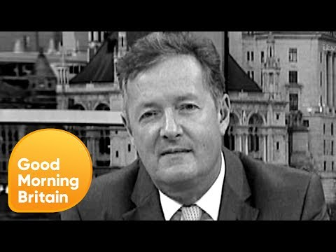 Piers Morgan Reacts to Being Brutally Silenced by Susanna Reid