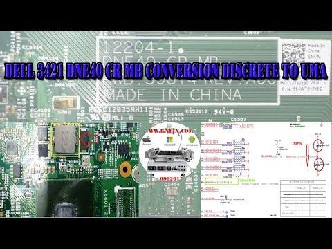 DELL 3421 DNE40 CR MB CONVERSION DISCRETE TO UMA