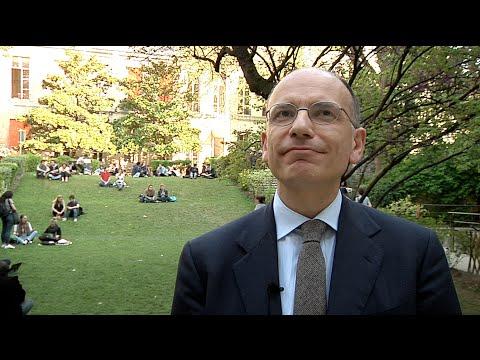Enrico Letta, directeur de PSIA, Sciences Po