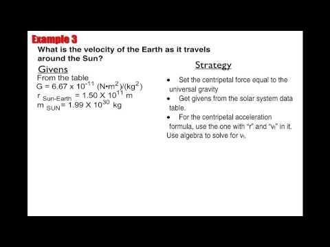 Orbital Mechanics Example 3