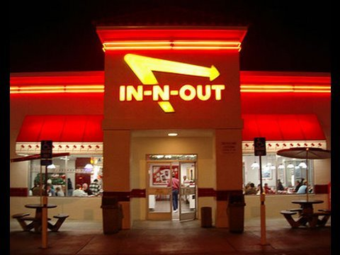 In-N-Out Burger is listed (or ranked) 1 on the list The Top 7 Fast Foods with Cult Followings
