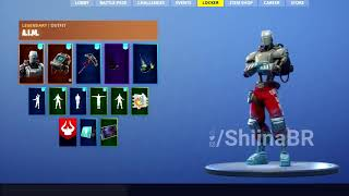 "WEEK 7 HUNTING PARTY SKIN ""A.I.M"" SHOWCASE [IN-GAME] FORTNITE BATTLE ROYALE"