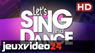 Let's Sing and Dance - New Trailer HD (Xbox 360)