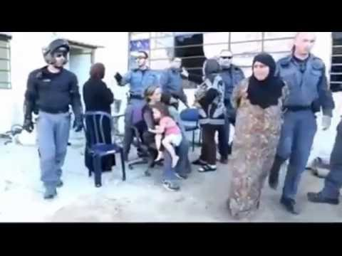 palestine women tortured and arrested by Israel Police for nothing