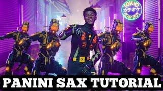 Lil Nas X - Panini - Saxophone Tutorial By Ikechi Onyenaka
