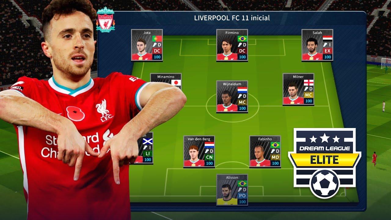 Liverpool FC 2021 ACTUALIZADO | Plantilla DLS 19
