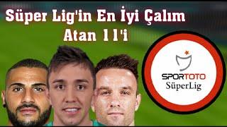 Süper Lig'in En İyi Çalım Atan 11'i - 2018