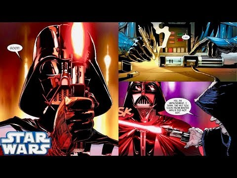 How Darth Vader Obtained His Sith Lightsaber Seen in the ...
