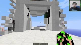 Minecraft : Minecraft 1.9 - 20 Yaratıcı Redstone Kapılar Haritası
