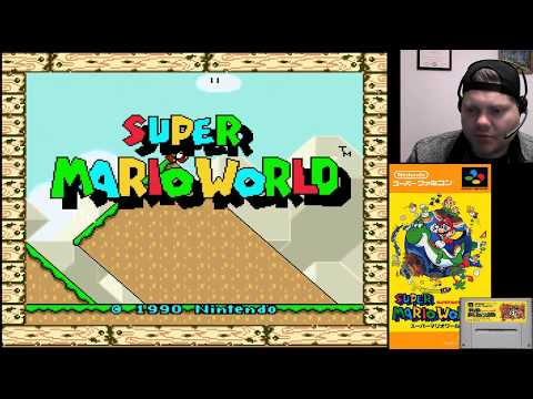 Super Mario World (Part 1) - SNES Classic | VGHI Play 'n' Chat Live Stream