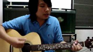 BodySlam - ความรัก [Acoustic cover & how to Chord by KOH]