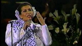 Lola Beltrán en Bellas Artes -CON MIS PROPIAS MANOS-, 1990..VOB
