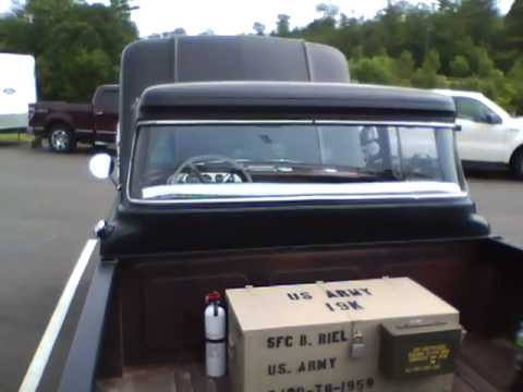 1959 Ford F100 Custom Cab Pickup Truck Youtube