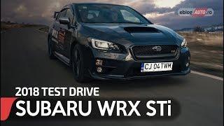 2018 SUBARU WRX STi 2.5 AWD 300 CP TURBO SPORT | TEST DRIVE eblogAUTO