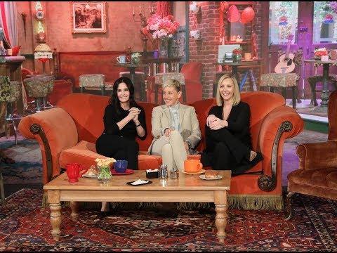El reencuentro sorpresa de dos de las actrices de 'Friends'