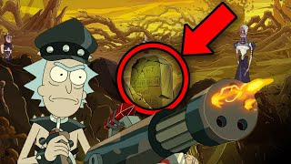 RICK AND MORTY 5x05 BREAKDOWN! Easter Eggs & Details You Missed!