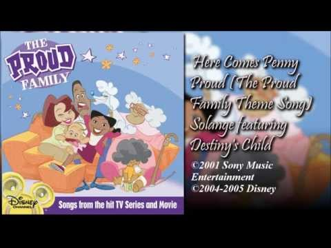 The Proud Family Theme Song (Sample) by Destiny's Child