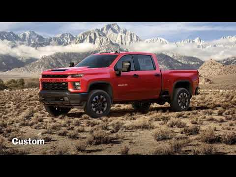 The 2020 Chevy Silverado HD!! All Trim Levels Have Been Revealed!!
