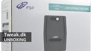 tweak.dk Unboxing: FSP FP 1000 UPS