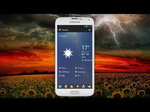 """Прогноз погоды """"Gismeteo"""". Обзор мобильного приложения"""