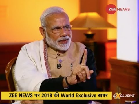 Watch an exclusive interview of PM Narendra Modi on the grow