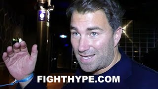 EDDIE HEARN MOCKS FRANK WARREN; GIVES LEVELS COMPARISON IN RESPONSE TO CLAIM THEY