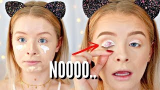 FULL FACE FIRST IMPRESSIONS.. FAIL | sophdoesnails