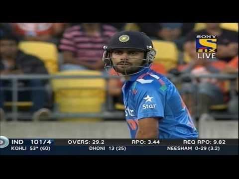 India Innings | Sixes | India vs New Zealand | 5th ODI | 2014