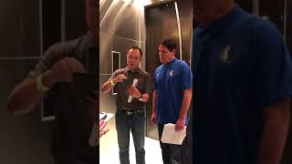 Mark Cuban and Cybermiles CEO Lucas Lu